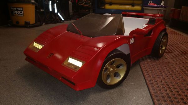 power wheels ride on lamborghini countach! for sale in lake zurich