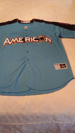 468f33e4e All Star Trout Large Sewn 2017 Jersey for Sale in Bensalem