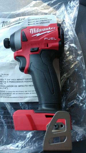 MILWAUKEE FUEL 1/4 18VOLT CORDLESS DRIVER NEW NEW for Sale in Millersville, MD