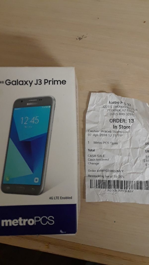 Samsung j3 prime for Sale in Phoenix, AZ - OfferUp
