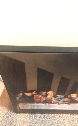 Last supper solid wood picture Thumbnail