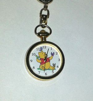 Disney WINNIE THE POOH Quartz Watch Keychain - Made in Japan for Sale in Silver Spring, MD