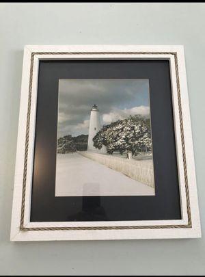 Framed Lighthouse Photo for Sale in Manassas, VA