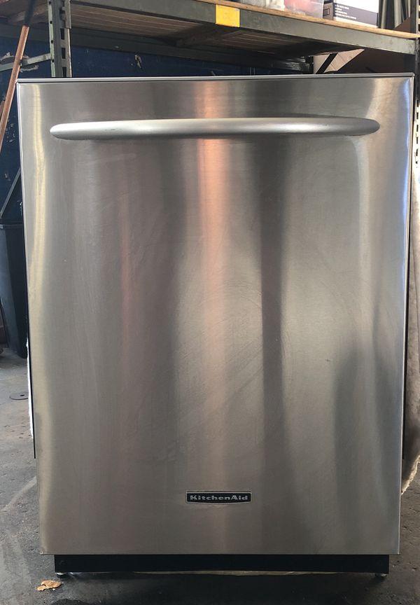 Kitchen Aid Dishwasher Model Kud102frss4 Type 577 0 For Sale