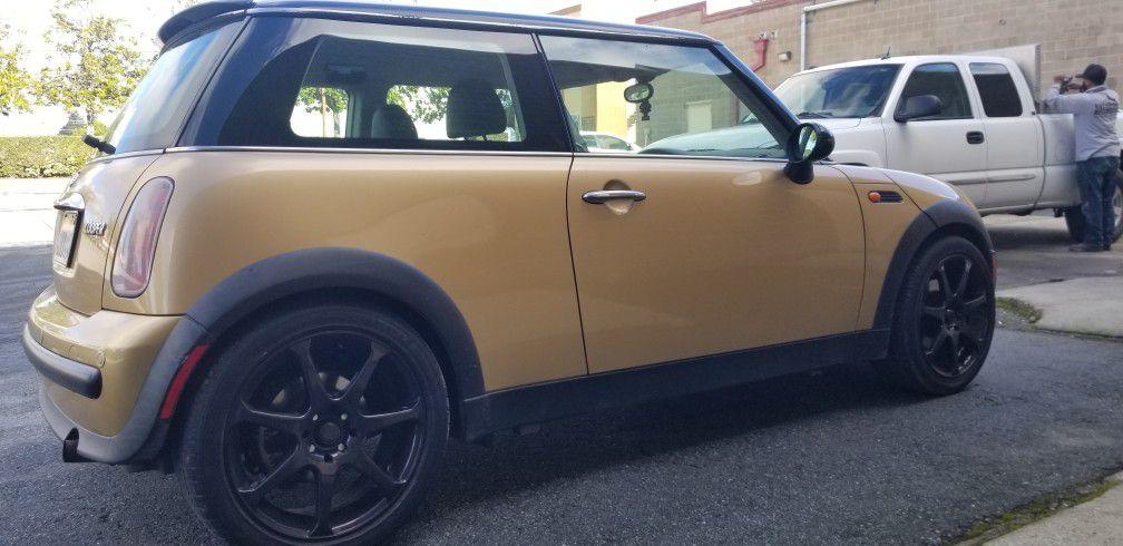 Mini Cooper Base, Gold, 6-speed Automatic