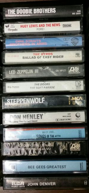 12 awesome rock n roll & more tapes for Sale in Portland, OR