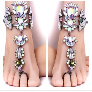 2 bohemian boho ankle bracelets barefoot sandals for Sale in Burke, VA