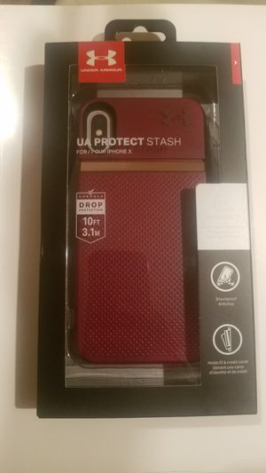 UA Protect Stash for iPhone X.... for Sale in Landover, MD
