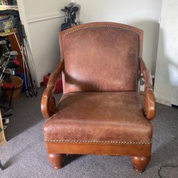 Two Very Sturdy Sitting Room Chairs  Thumbnail