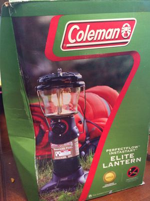 Coleman elite lantern for Sale in Powder Springs, GA