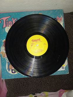 Tinker bell . peter cotton tail record Thumbnail