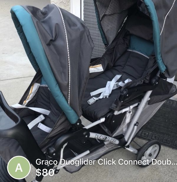 Graco Duoglider Click Connect Double Stroller For Sale In Norco Ca Offerup