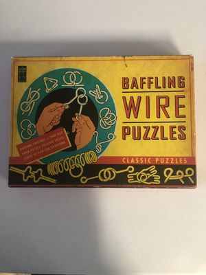 Baffling Wire Puzzles for Sale in Tustin, CA