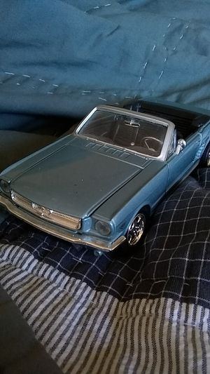 1964 Ford mustang pony car model car toy car collectable car diecast metal for Sale in Norwalk, CA