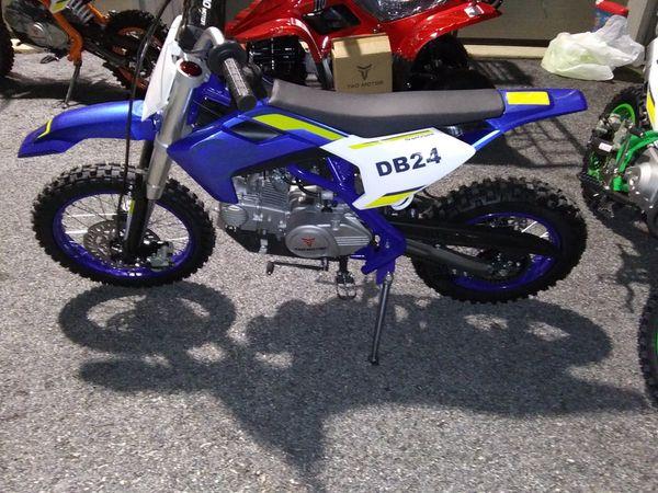2020 110cc tao motors db24 dirt bike