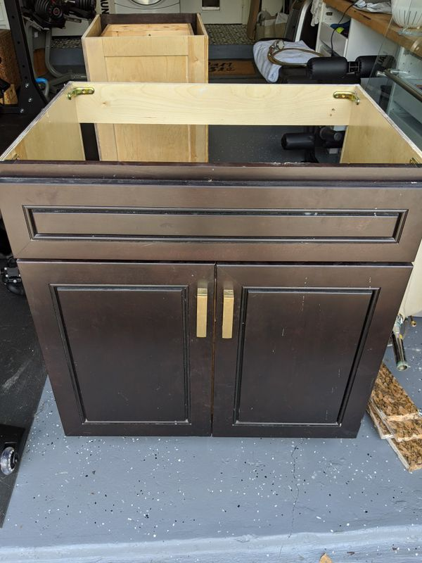 Bathroom vanity cabinets and granite countertop for Sale ...