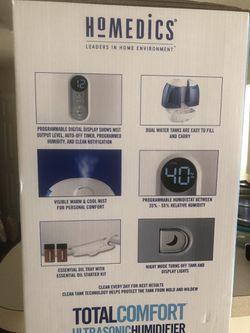 Homedics Ultrasonic Humdifier Thumbnail
