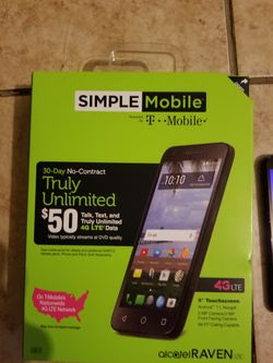 T mobile/simple mobile smartphone Thumbnail