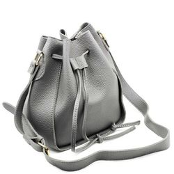 Fashion buckets leather handbags Thumbnail