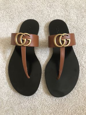 09d84e120773 Gucci T-Strap Marmont Sandals - size 6.5 for Sale in Seattle