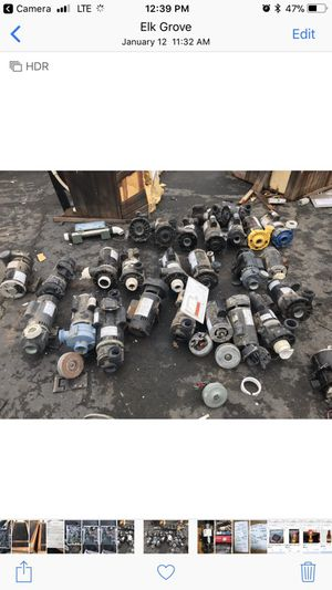 Spa and pool pumps and motors for Sale in Elk Grove, CA