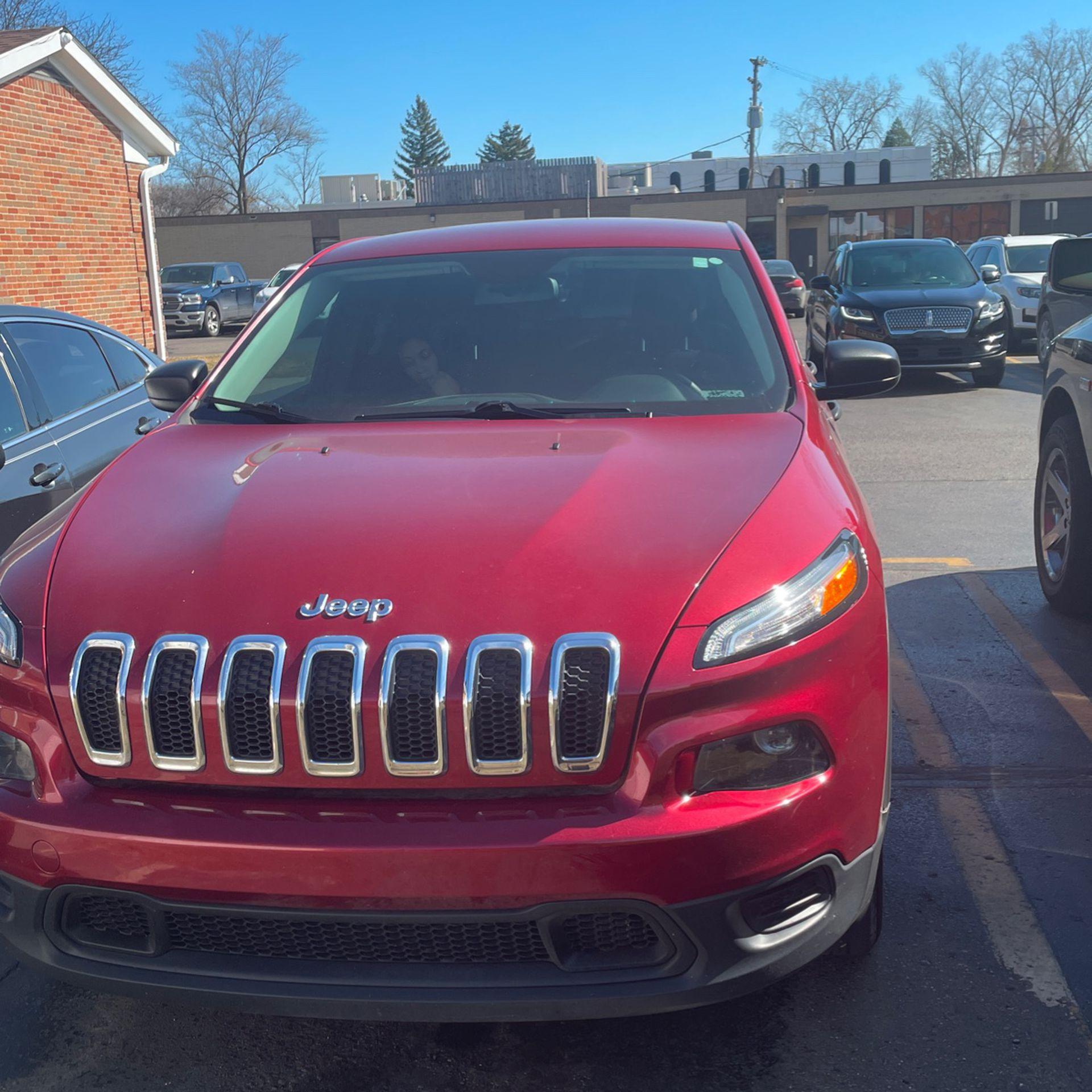 2014 Keep Cherokee Red