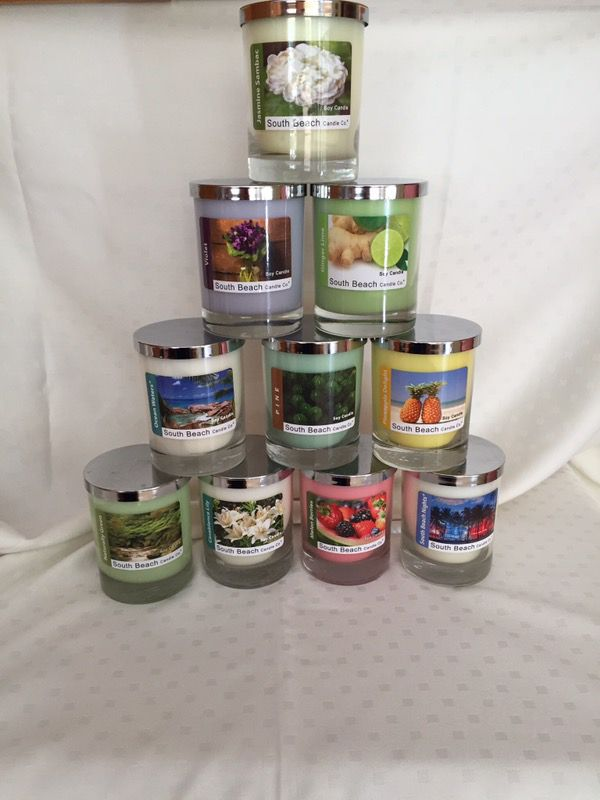 South Beach Candles For In Miami