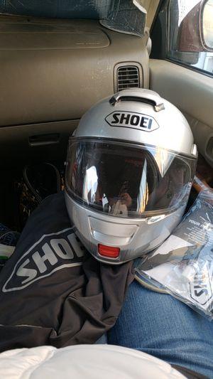 Shoei NeoTec Silver Helmet Females Size M 57-58cm. for Sale in Salt Lake City, UT