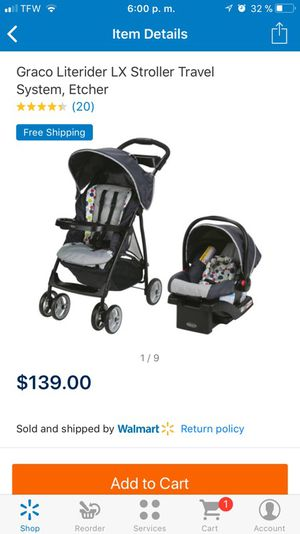 Travel system new ( carreola con carseat y la base) for Sale in Las Vegas, NV