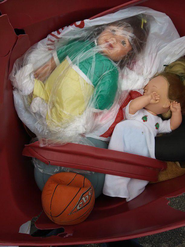 Antique Dolls & Toys