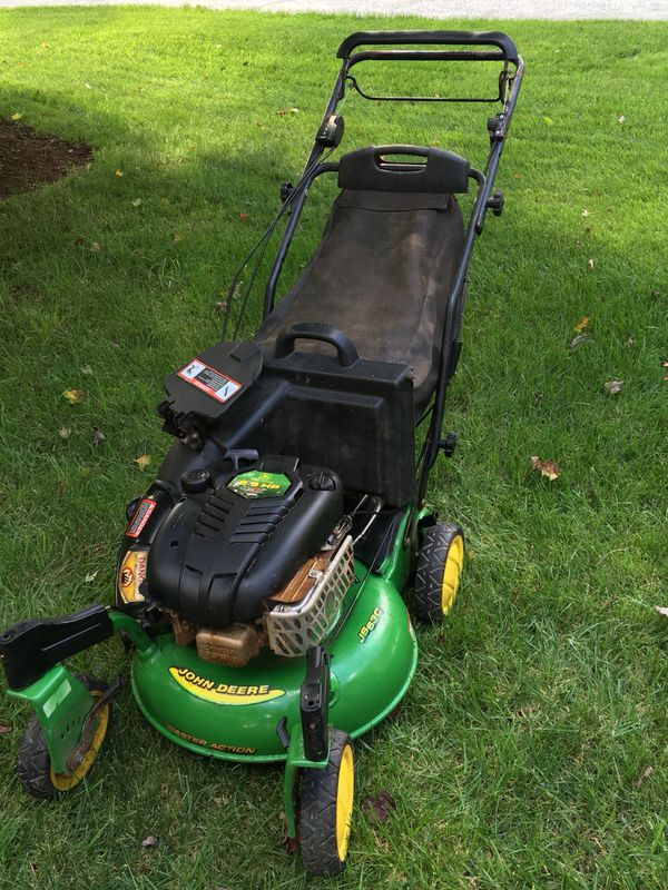 John Deere Js63c Self Propelled Lawn Mower And Bag For Sale In Raleigh Nc Offerup