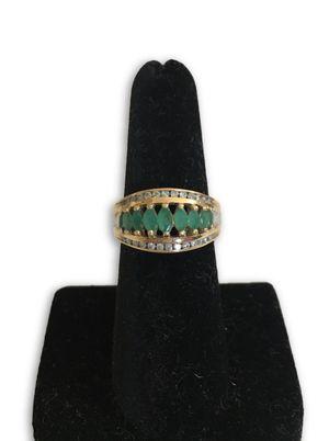 14k emerald/diamonds ring for Sale in Alexandria, VA
