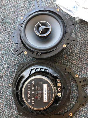 Ken wood KFC-X134 excelon and Alpine aps-619 6x9 stereo speakers for Sale in Scottsdale, AZ