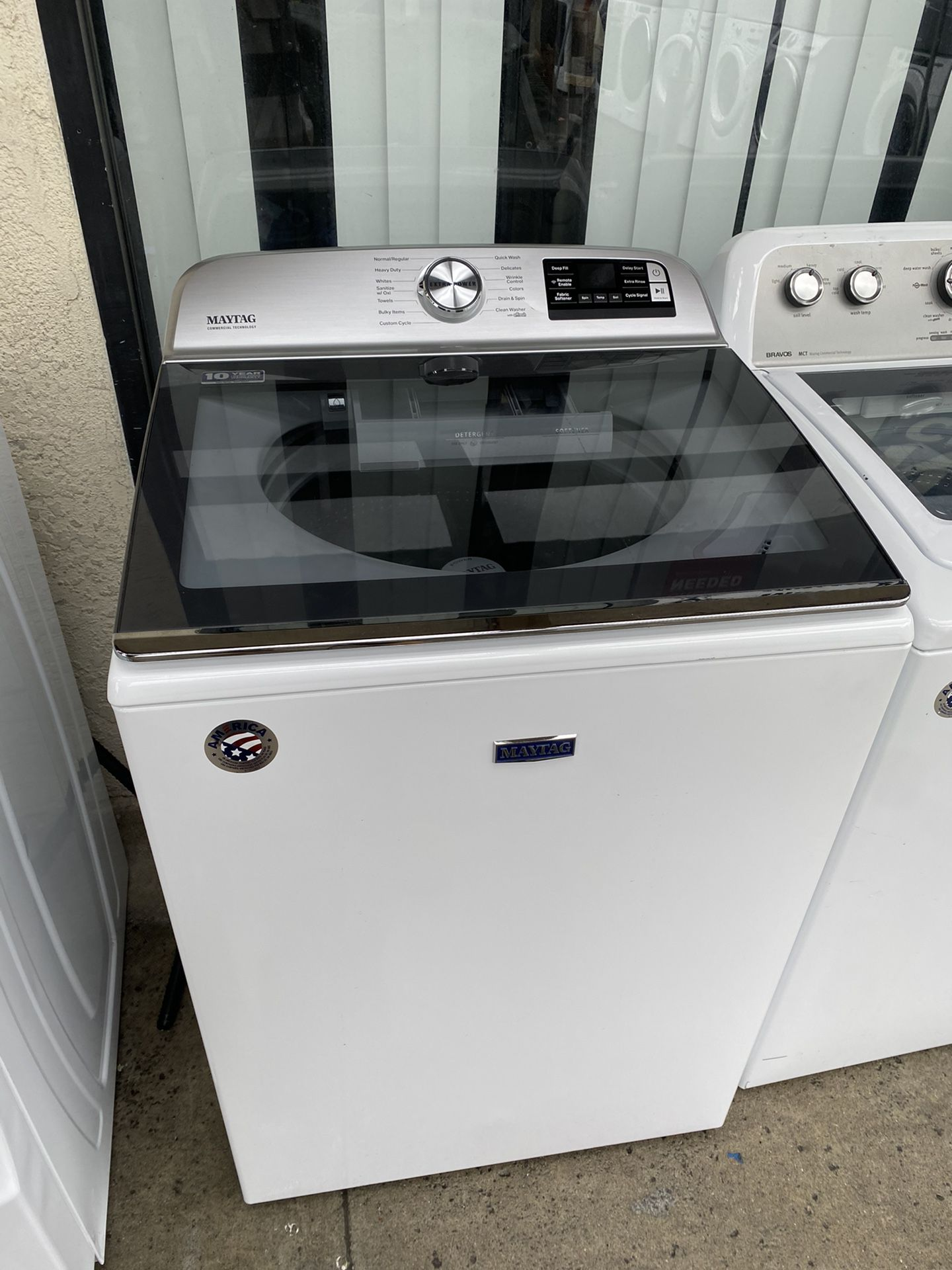 """27"""" Maytag Top Load Washer 5.4cft"""