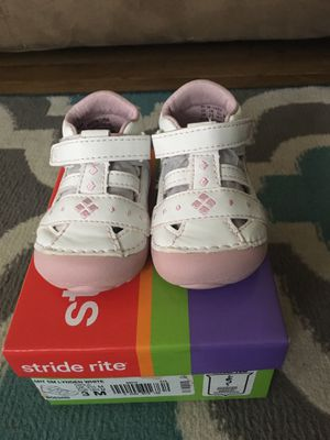 Stride rite baby girl shoes for Sale in Rockville, MD