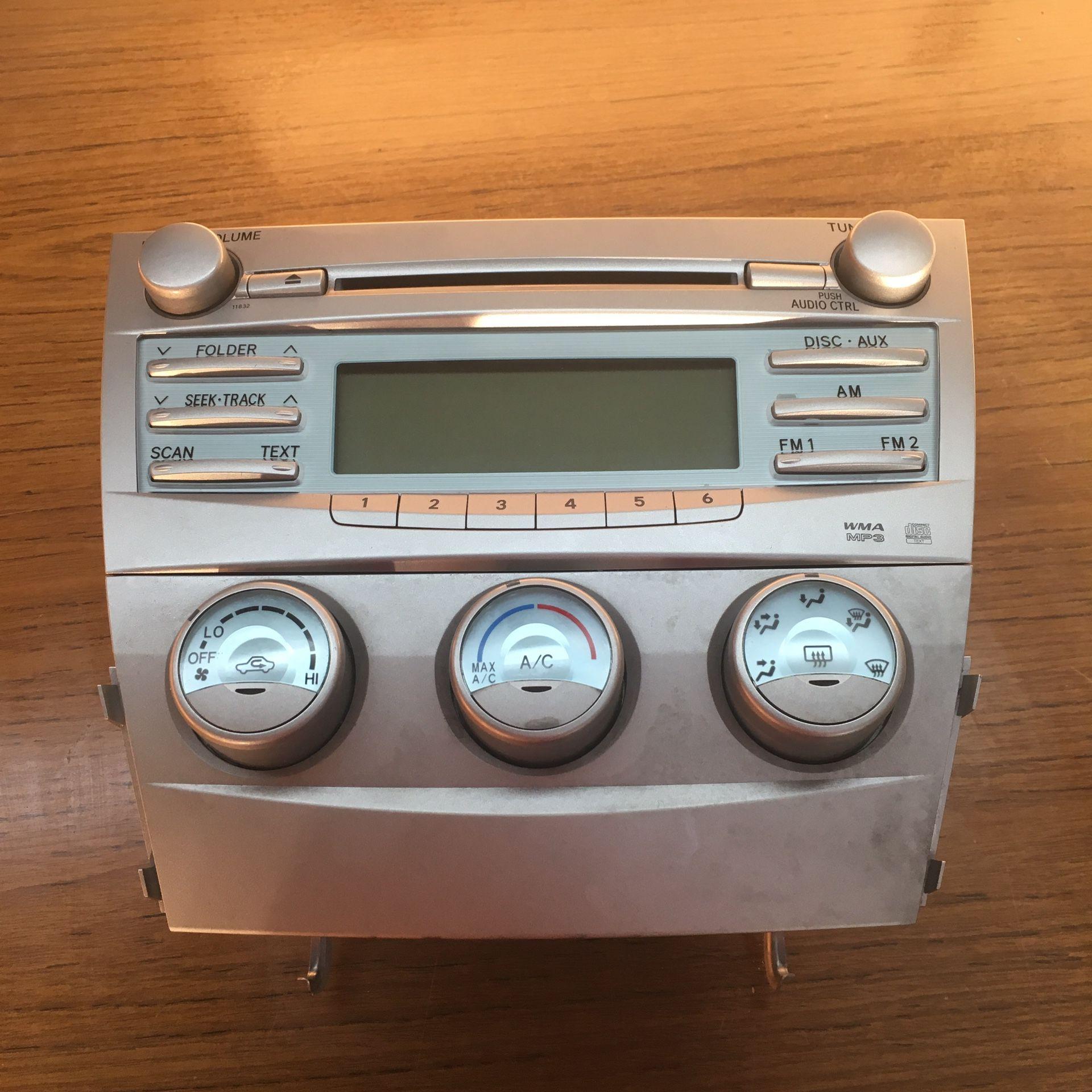 2007-2011 Toyota Camry Radio system