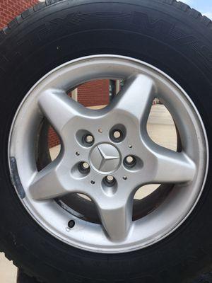 Mercedes Benz wheels on Michelin tires for Sale in Greensboro e229fc318b2e