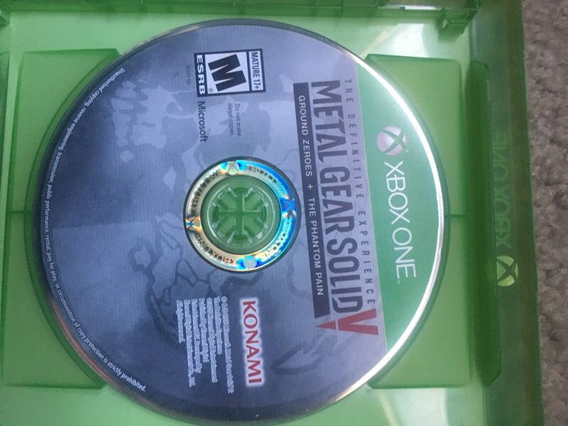 Metal gears solid 5 definitive edition