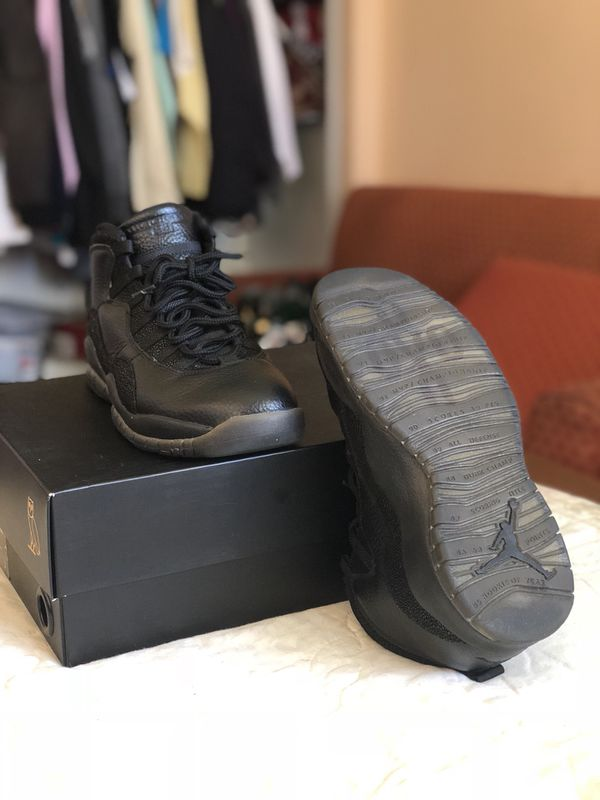 75f636117a1 Air Jordan Retro 10 OVO Black - Size 8.5 for Sale in West Palm Beach ...
