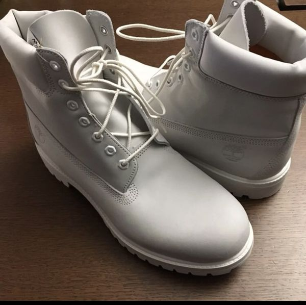 New without box Timberland limited edition ghost white size 12 for Sale in Cherry Hill, NJ OfferUp