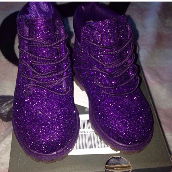 Custom Made Glitter Timberlands 5c For Sale In Sausalito CA