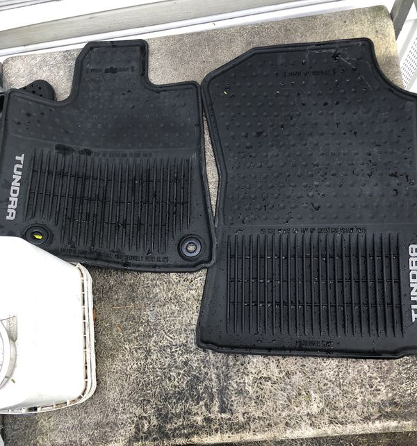 2016 All Weather Floor Mats Front And Back For Sale In
