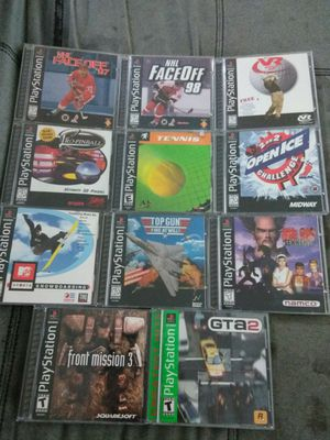 PSX 11 Games all In GREAT Condition Bundled for $40! for Sale in Puyallup, WA