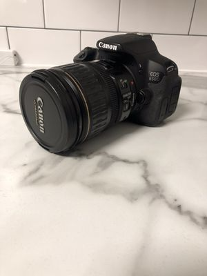 Canon 650D DSLR Camera for Sale in Dunwoody, GA