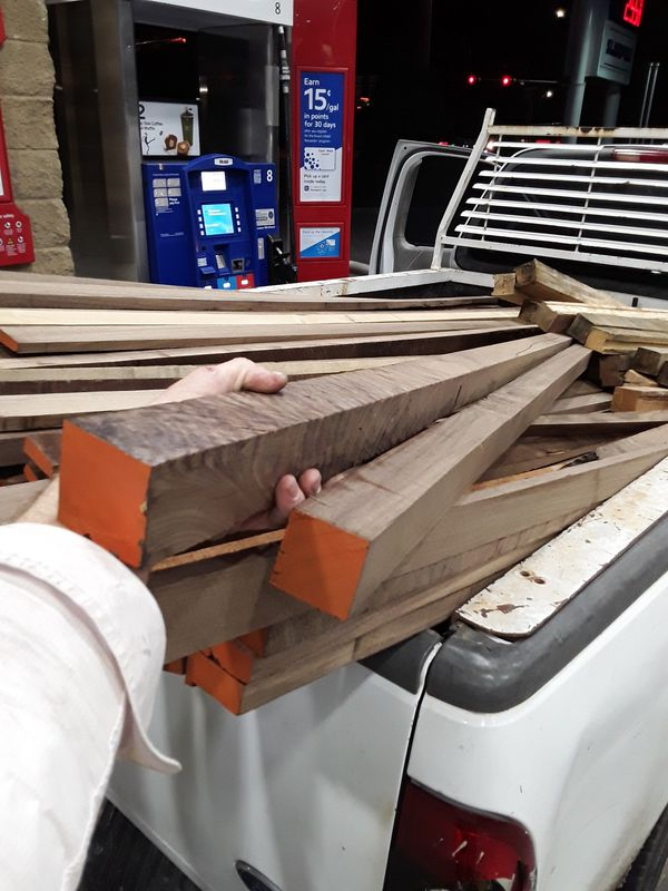 Walnut 2x2x10'(actual) lumber for Sale in Dallas, TX - OfferUp