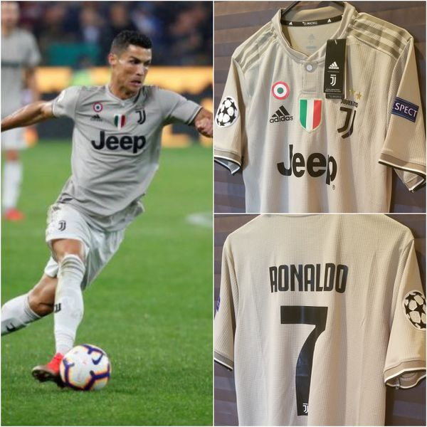 new products 0fedd 36d6e Men's 2018/19 Club Juventus Away Jersey #7 Cristiano Ronaldo (Player  Version) for Sale in McAllen, TX - OfferUp