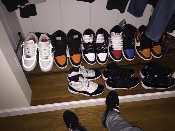 timeless design 8594e 23c6c jordan 1's, jordan 11's, off white and travis scott's for Sale in San Jose,  CA - OfferUp