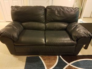 Moving Sale -Leather Sofa & Love seat for Sale in Upper Marlboro, MD