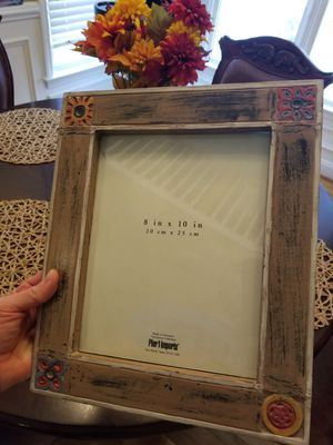 Photo PIER 1 IMPORTS Ornamental Picture Frame for 8 X 10