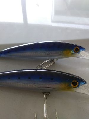 X rap 20 rapala deep dive 20 foot dive lip. quality Knock offs for Sale in Lakeside, CA